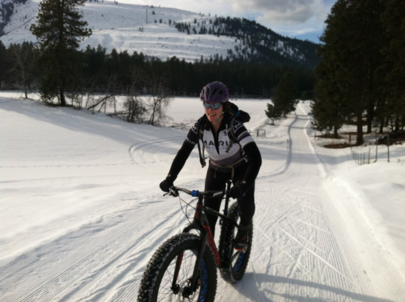 Nordic/fat bike trails near the Fish Hatchery