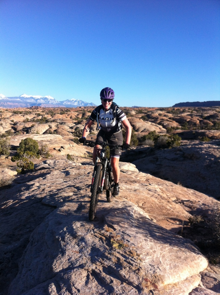 Naomi at Moab Brand Trails